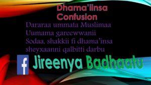 Dhama'iinsa